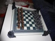 Schachspiel Drachen, Drachenset,