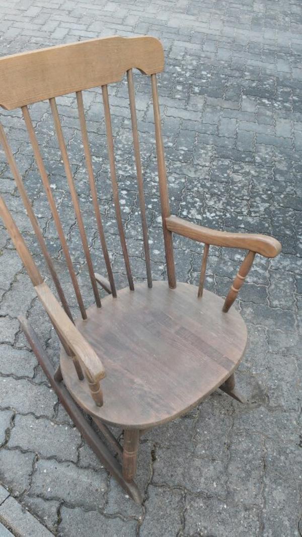 Schaukelstuhl neu und gebraucht kaufen bei for Schaukelstuhl alt