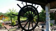 Schiffssteuerrad für Garten