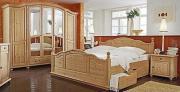 Schlafzimmer Kiefer massiv,