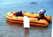 Schlauchboot mit 4