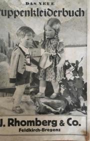 Schnittmuster für Puppenkleider