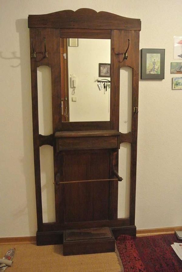 sch ne jugendstil garderobe mit spiegel in bonn sonstige m bel antiquarisch kaufen und. Black Bedroom Furniture Sets. Home Design Ideas