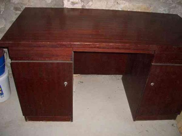 Schreibtisch vollholz neu und gebraucht kaufen bei for Schreibtisch vollholz