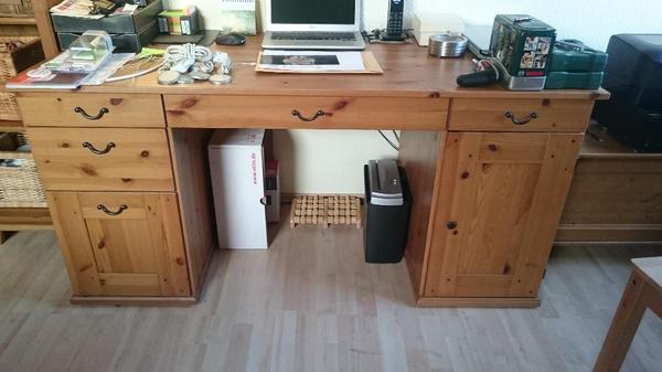 schreibtisch echtholz neu und gebraucht kaufen bei. Black Bedroom Furniture Sets. Home Design Ideas