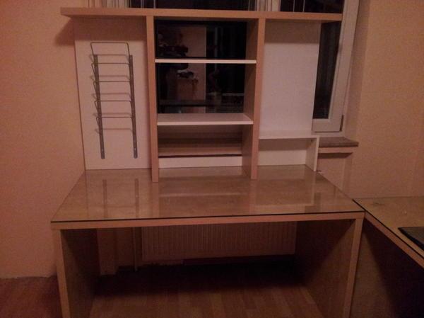 schreibtisch mit glasplatte schreibtisch mito mit. Black Bedroom Furniture Sets. Home Design Ideas