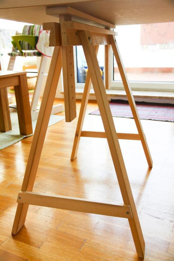 schreibtischplatte und tischbock ikea in n rnberg ikea. Black Bedroom Furniture Sets. Home Design Ideas