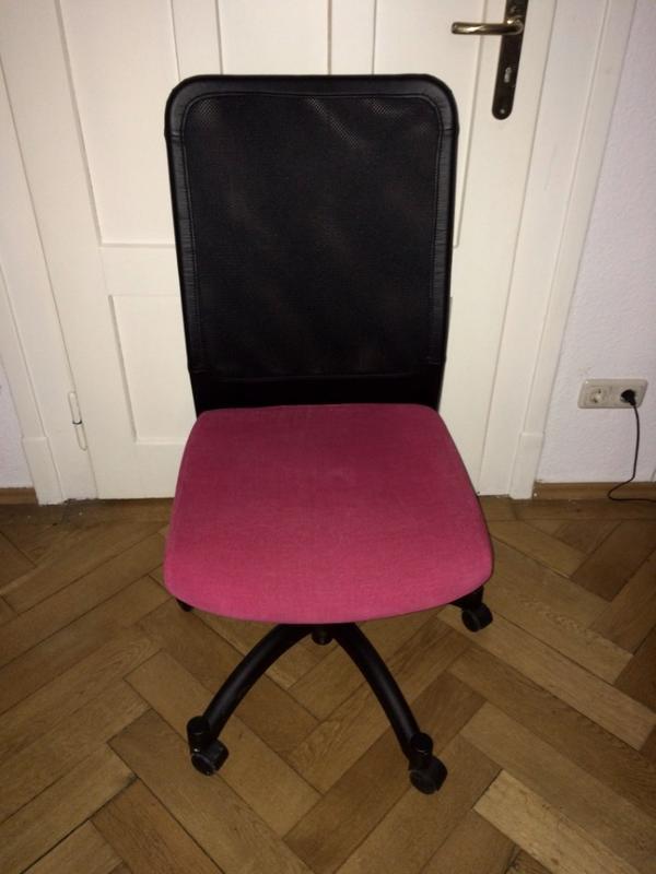 schreibtischstuhl schwarz kaufen gebraucht und g nstig. Black Bedroom Furniture Sets. Home Design Ideas