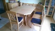 Schreinermöbel - Eckbank, Tisch