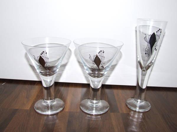 sekt cocktailgl ser in m nchen geschirr und besteck. Black Bedroom Furniture Sets. Home Design Ideas