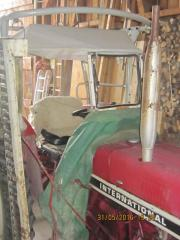 Sirocco-Verdeck Traktor