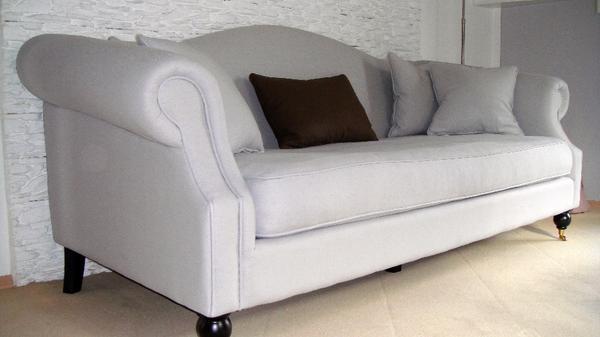 sofa 3 sitzer maravilla in hellgrau in m nchen. Black Bedroom Furniture Sets. Home Design Ideas