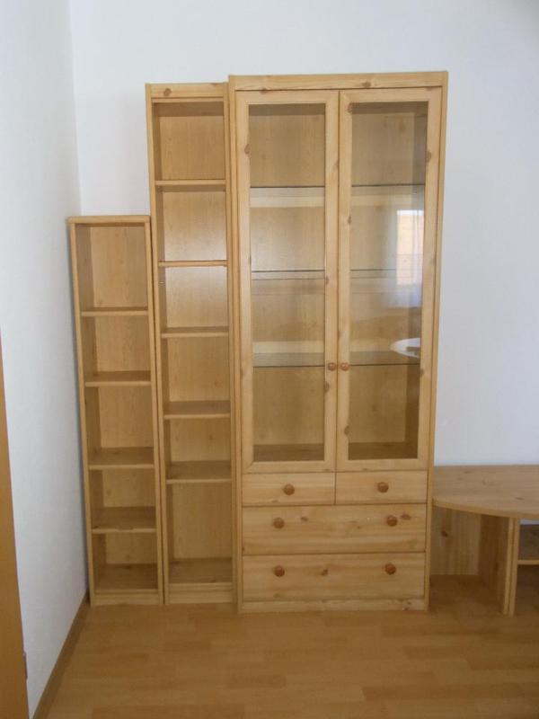 soft plus wohnzimmerwand in astkiefer in freising wohnzimmerschr nke anbauw nde kaufen und. Black Bedroom Furniture Sets. Home Design Ideas