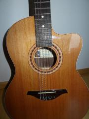 Spanische Konzertgitarre mit