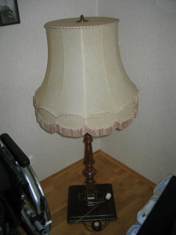stehlampe gr nderzeit in bad hersfeld lampen kaufen und verkaufen ber private kleinanzeigen. Black Bedroom Furniture Sets. Home Design Ideas