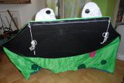Strandmuschel (Froschmotiv)