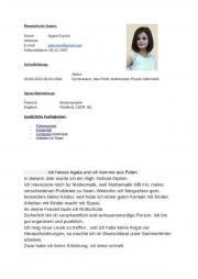 Studentin aus Polen