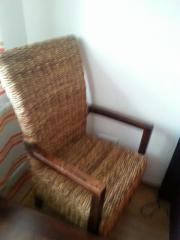 Stuhl aus Bananen