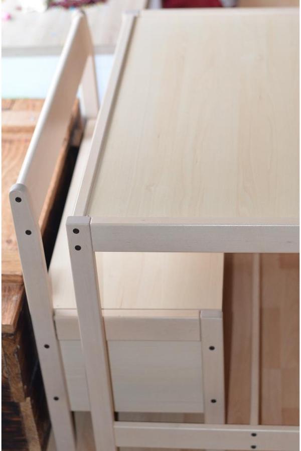 Stuhl tisch sitzecke truhe paidi kindersitzgruppe modell for Jugendzimmer tisch
