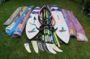 Surfausrüstung komplett Windsurf