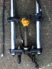 Suzuki Gabel + Laufräder