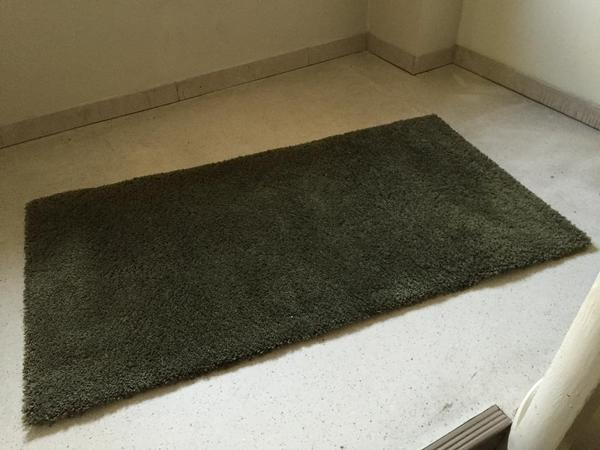 teppich ikea adum dunkelgr n in m nchen teppiche kaufen. Black Bedroom Furniture Sets. Home Design Ideas