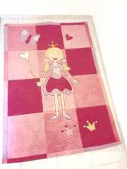 Teppich Prinzessin Mädchen