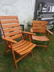 Terrassenstühle - Massivholz