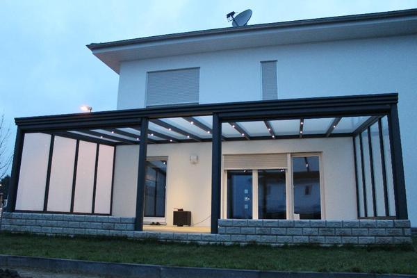 terrassen berdachung alu vsg klarglas 4 x 3 m alles inklusive in kempen handwerk gewerblich. Black Bedroom Furniture Sets. Home Design Ideas