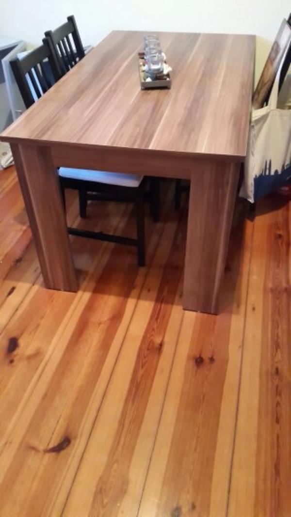 tisch nussbaum neu und gebraucht kaufen bei. Black Bedroom Furniture Sets. Home Design Ideas