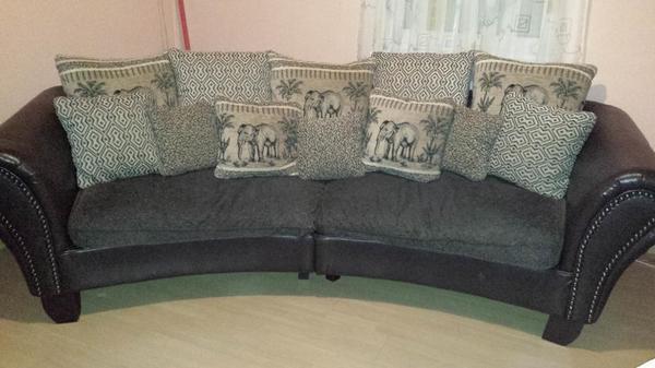 tolles big sofa york zu verkaufen in gr fenberg polster sessel couch kaufen und verkaufen. Black Bedroom Furniture Sets. Home Design Ideas