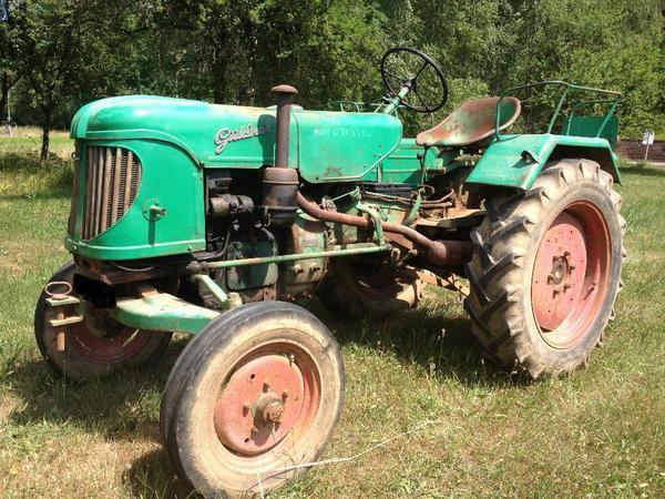 traktor g ldner abs 10 bj 1956 in klingenm nster. Black Bedroom Furniture Sets. Home Design Ideas
