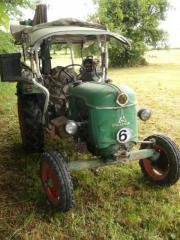 Traktor Marke Deutz