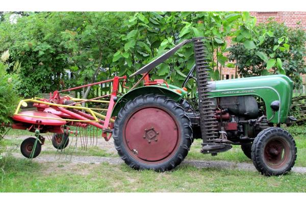 traktor porsche allgaier a122 in muggerkuhl traktoren. Black Bedroom Furniture Sets. Home Design Ideas