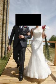 Traumhaftes Hochzeitskleid Größe