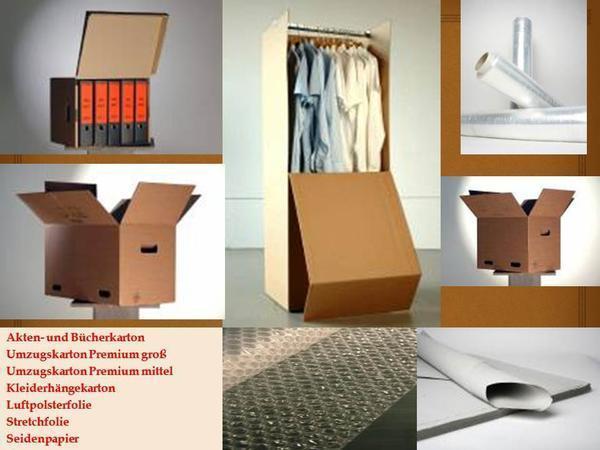 umzugmaterial verpackungszubeh r umzugskarton kleiderh ngekarton mit stange aktenkarton in. Black Bedroom Furniture Sets. Home Design Ideas