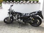 Unfall-Motorrad Honda