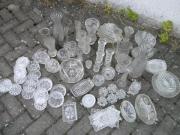 Vase Glas Kerzenhalter