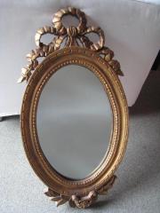 Vergoldeter Holzspiegel  Spiegel