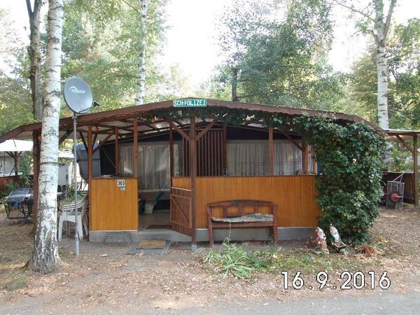 verk wohnwagen auf campingplatz altenburg pahna 4. Black Bedroom Furniture Sets. Home Design Ideas