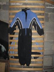 Verkaufe blauen Skioverall