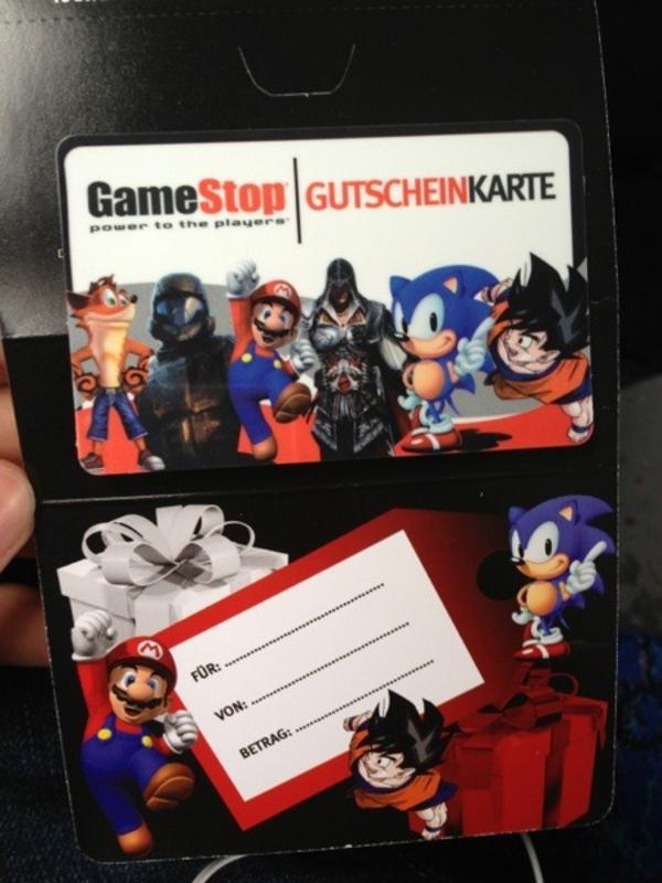 gamestop amazon gutschein