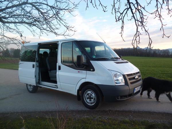 vermiete 9 sitzer kleinbus transporter mit. Black Bedroom Furniture Sets. Home Design Ideas