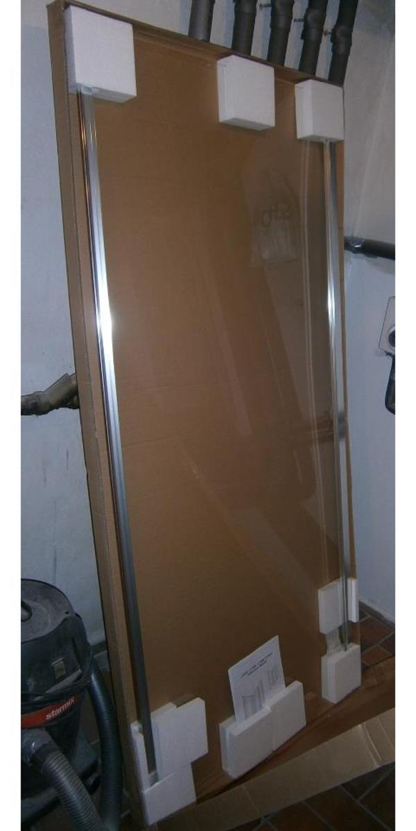 verschenke glas seitenwand von dusche in waldbronn bad einrichtung und ger te kaufen und. Black Bedroom Furniture Sets. Home Design Ideas