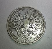 Verschiedene Silbermünzen Kaiserreich