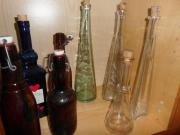 verschiedene Vasen + Flaschen