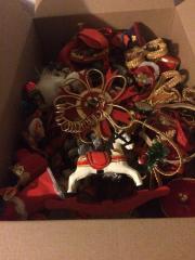 Verschiedene Weihnachtsdeko Dekoration