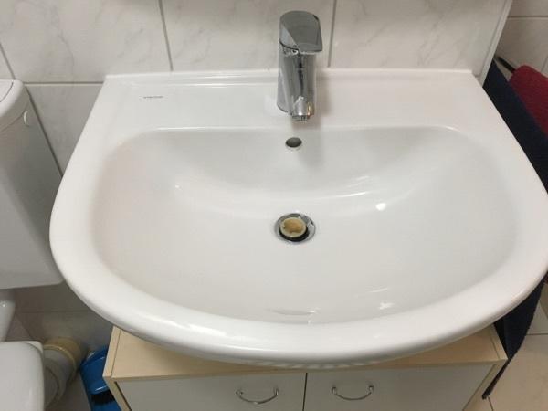 vigour waschbecken keramik ca 60 cm in m nchen bad einrichtung und ger te kaufen und. Black Bedroom Furniture Sets. Home Design Ideas