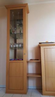 Vitrinenschrank / Wohnwand