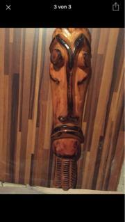 wand Deko Holzmasken